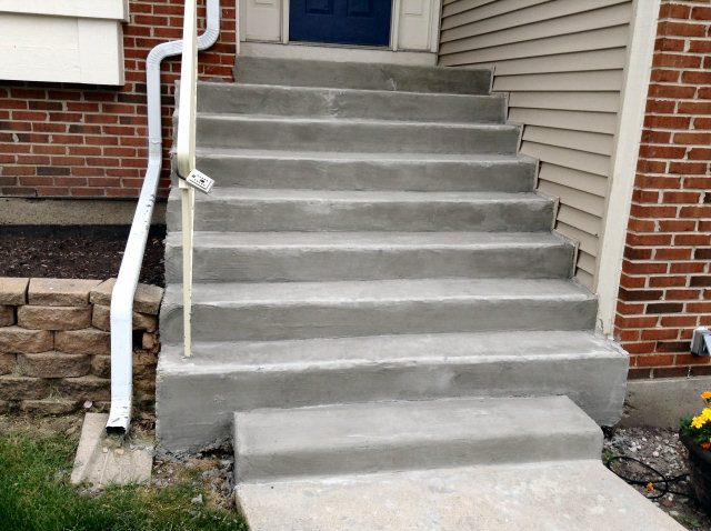 Concrete Steps, Concrete Stairs, & Railings Repair