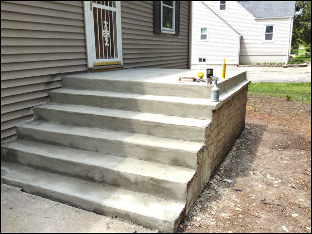 Before Restoration Click Image For Larger View If Your Have Concrete Stairs