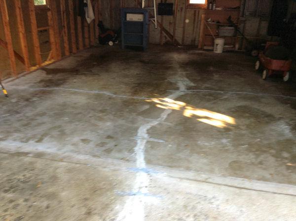 Repair Ed Concrete Garage Floor